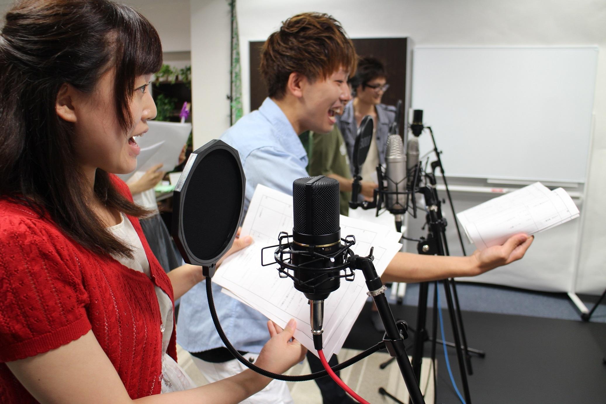精華学園高等学校 東京ボイス校:他校の声優コースとの違い